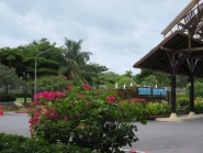 Entrance to Koh Samui Airport