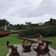 Samui Airport grounds