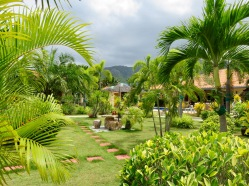 Beautiful Gardens at Stella Resort