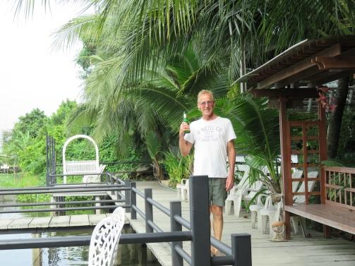 Drowning my sorrows in Bangkok :)