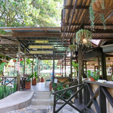 Our restaurant at Poring