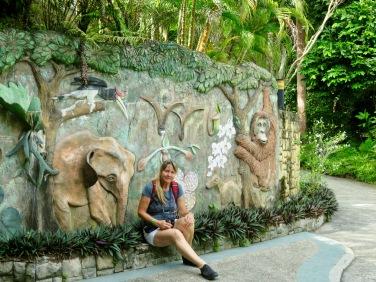 At Sepilok Rainforest