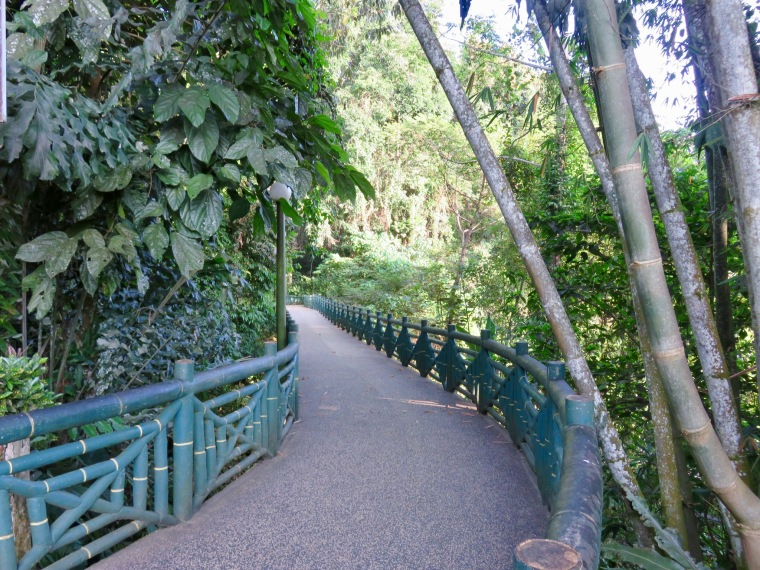 walkway to the Hot Springs and Restaurant