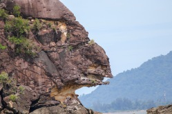Cliff face at Bako NP