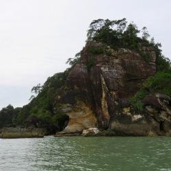 Bako cliffs