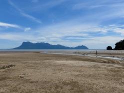 Mt Santubong from Bako