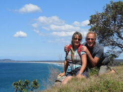 Selfie at Grassy Head