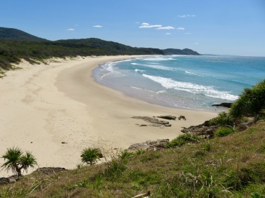 Beach at Grassy Head