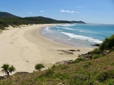 Beach at Grassy Head