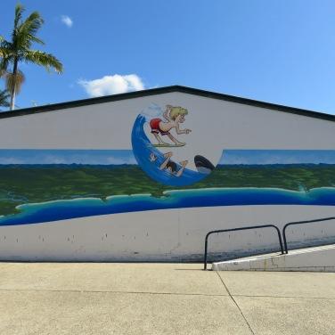Scott's Head Mural