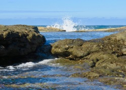 Rock pools Iluka Bluff